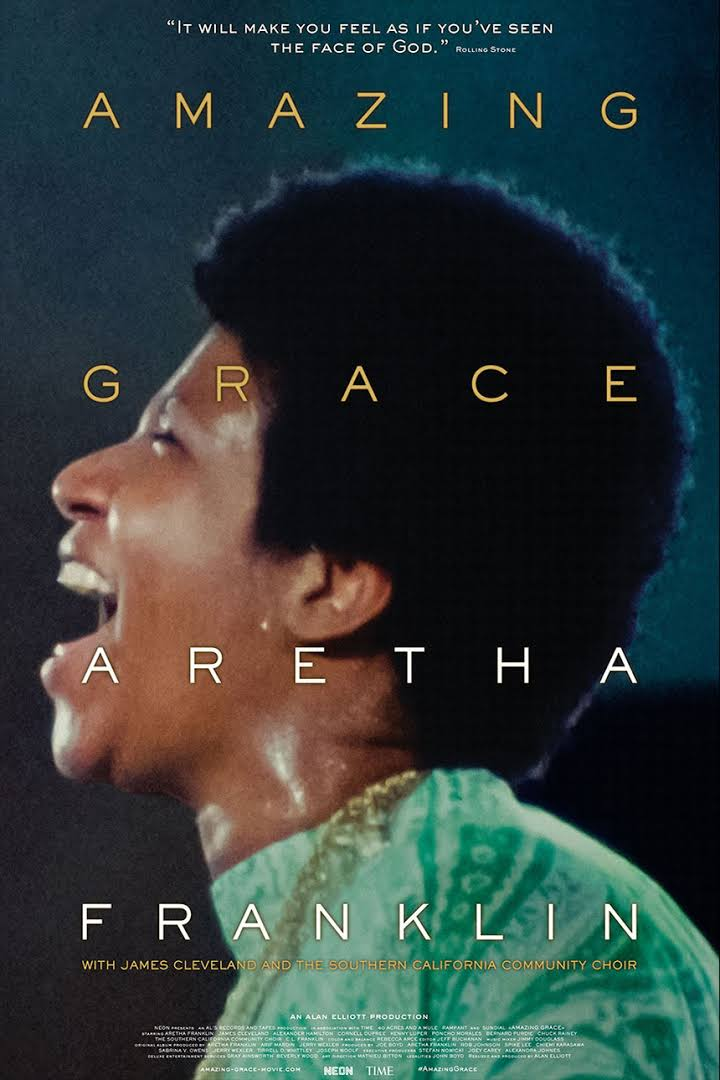 AMAZING GRACE: Weds/Thurs 8pm Screening (6:30pm on sundays)