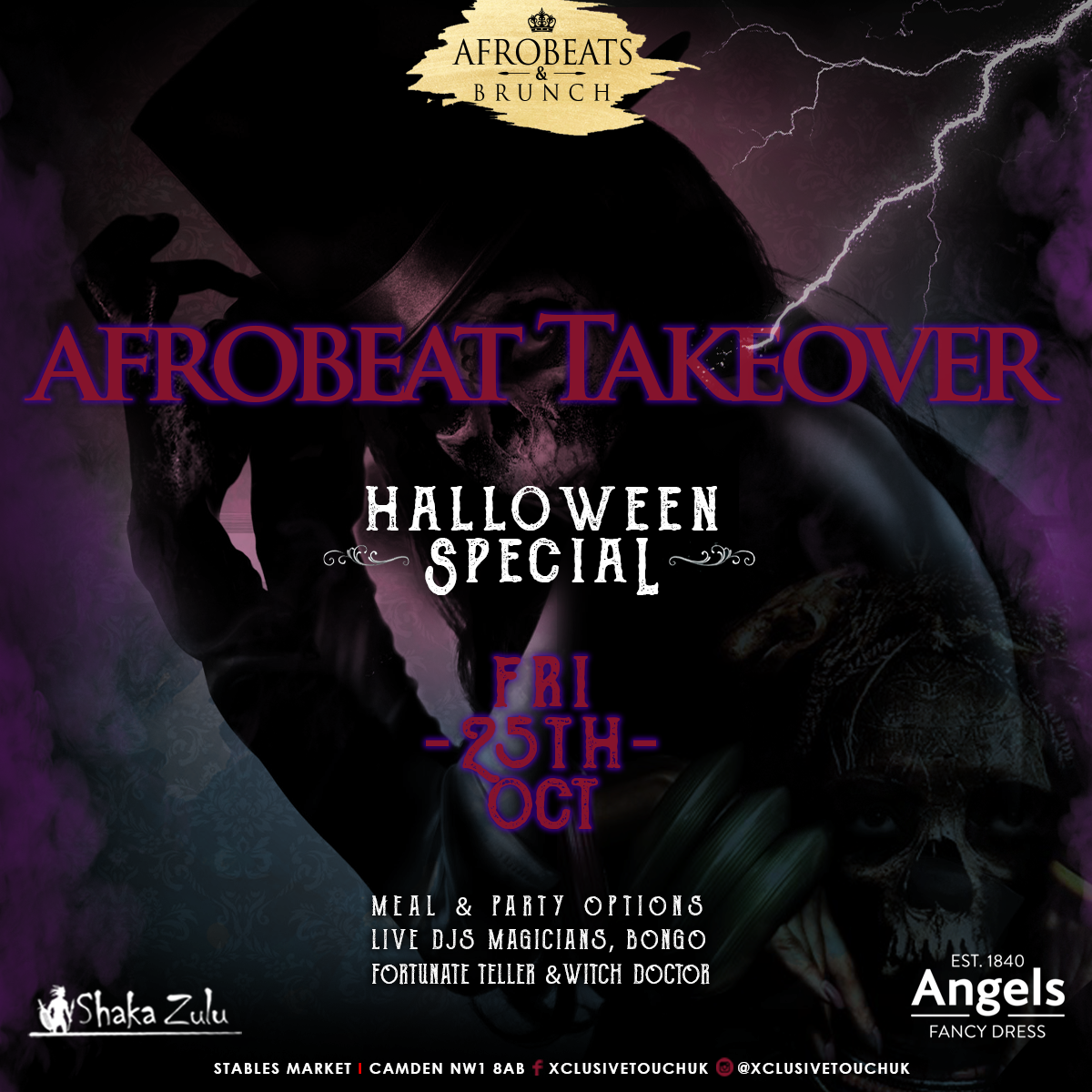 Afrobeats Takeover: Halloween Special
