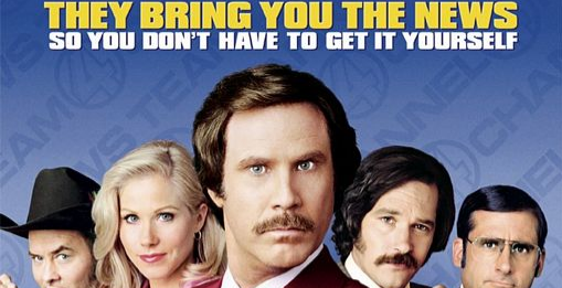 ANCHORMAN - THE LEGEND OF RON BURGUNDY  (INDOOR DRIVE-IN MOVIE)