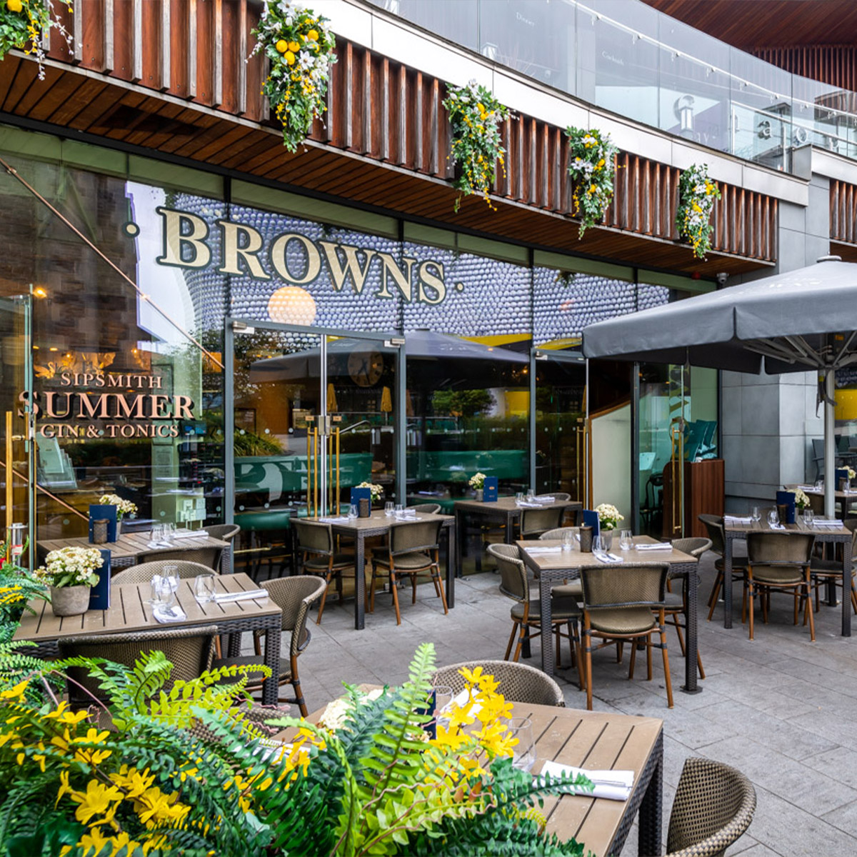 Browns Brasserie & Bar Birmingham
