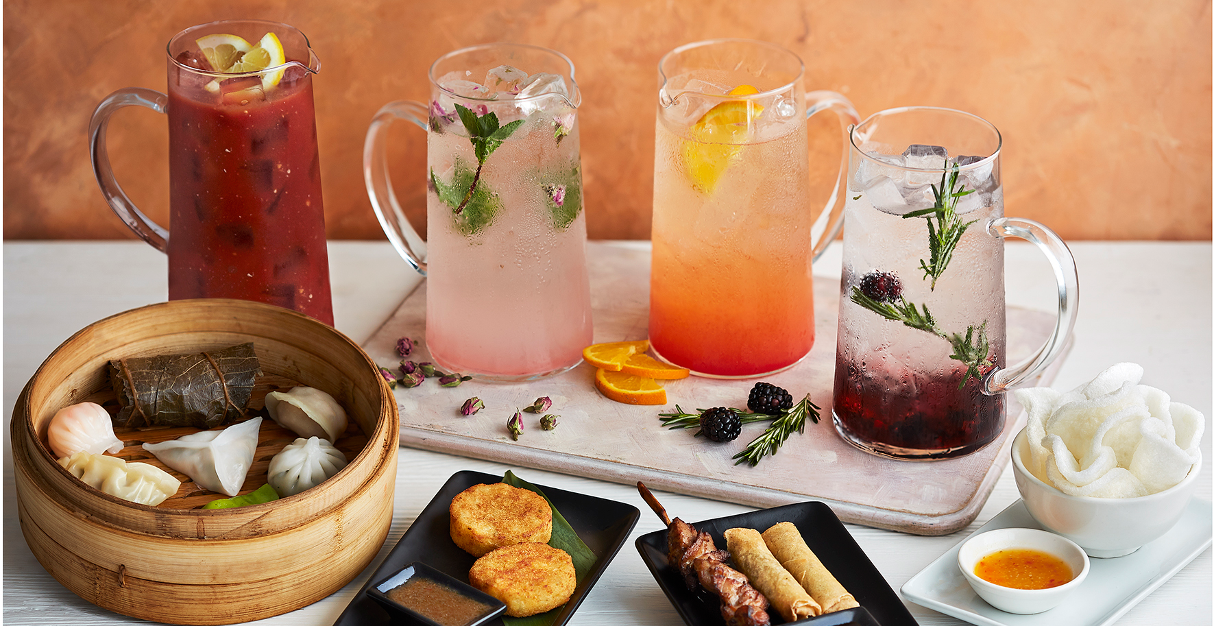 Saturday Bottomless Drinks and a Dim Sum Set Menu!