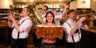 Oktoberfest at Bierschenke Beer Hall
