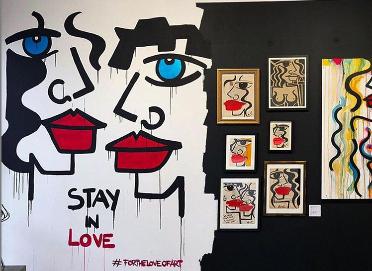 Street Artist Anna Laurini Private View & Intimate Supper Club