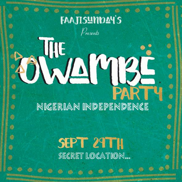 THE OWAMBE PARTY!!