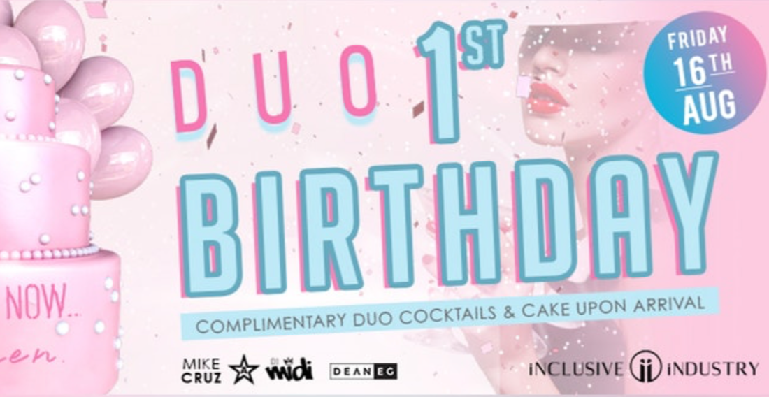 Duo London | First Birthday Celebration