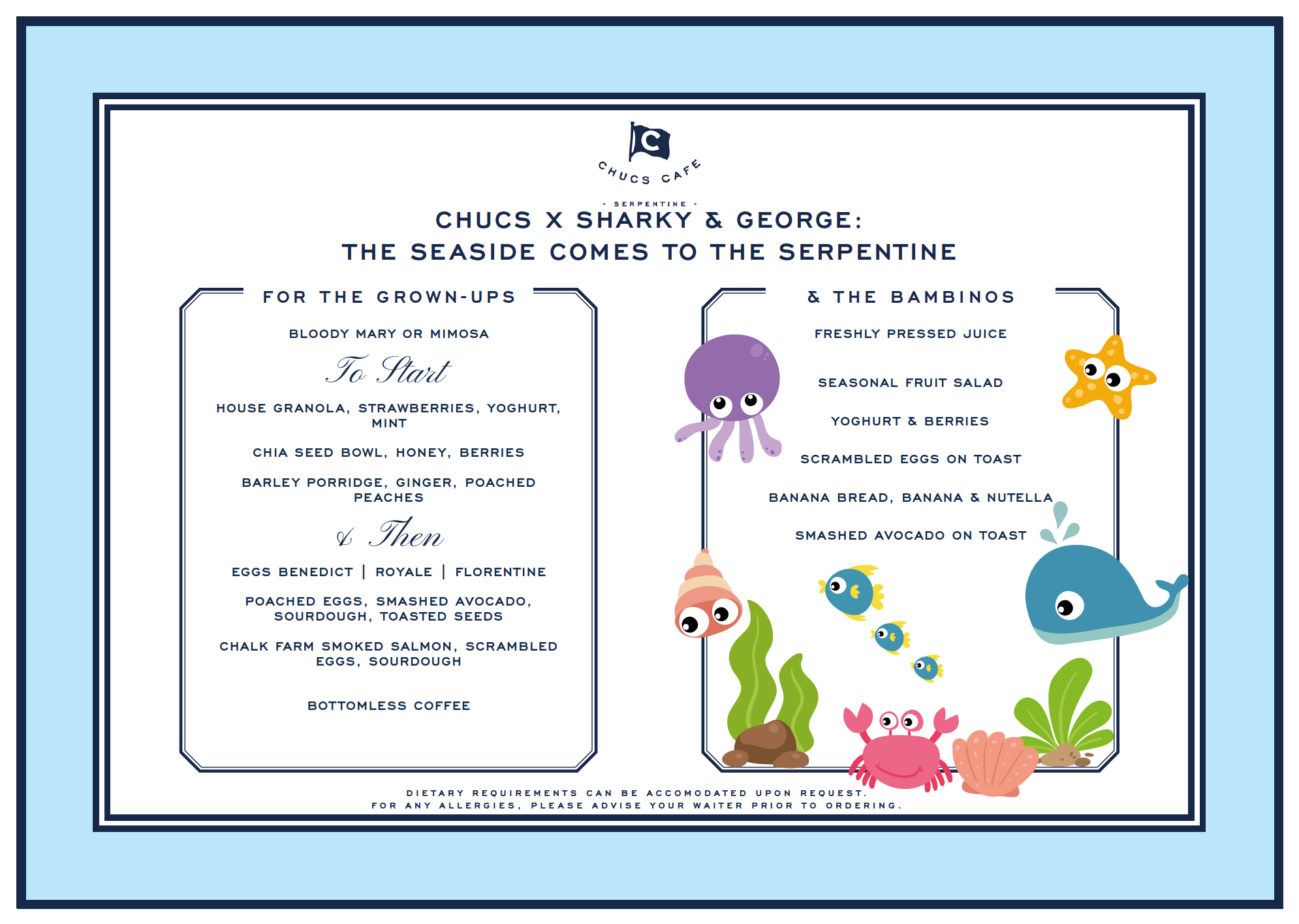 Chucs x Sharky & George: Bringing the Seaside to the Serpentine
