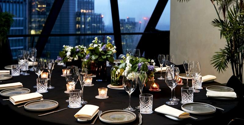 Group dinner dating london