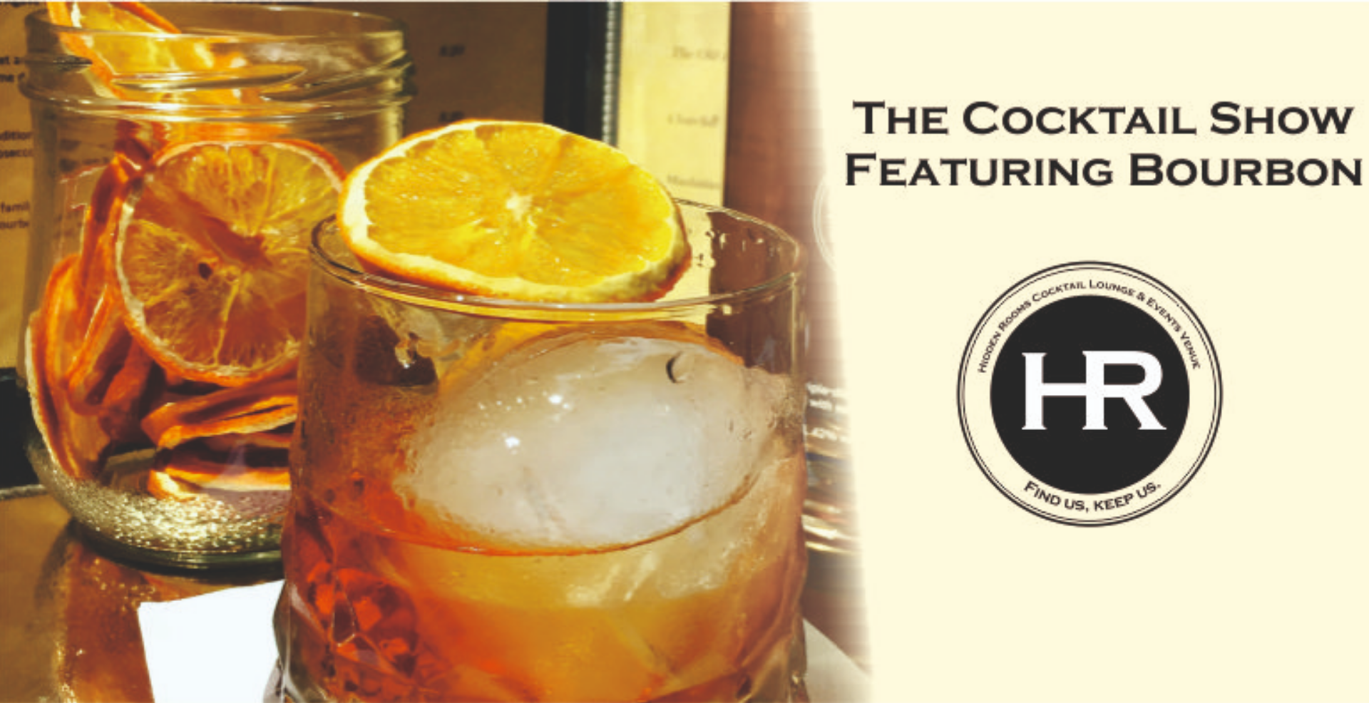 The Cocktail Show featuring Bourbon