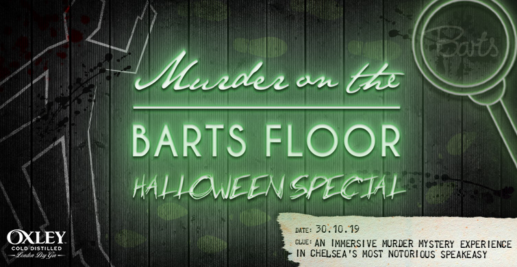 Murder on the Barts Floor... Halloween Special!