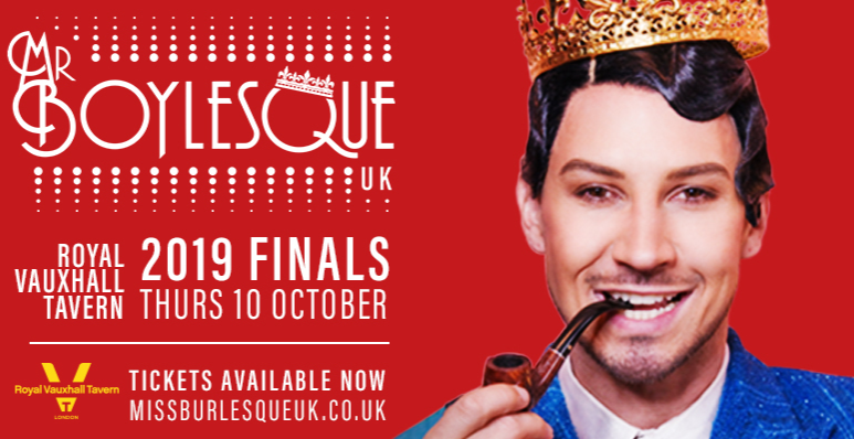 2019 Mr Boylesque UK Finals
