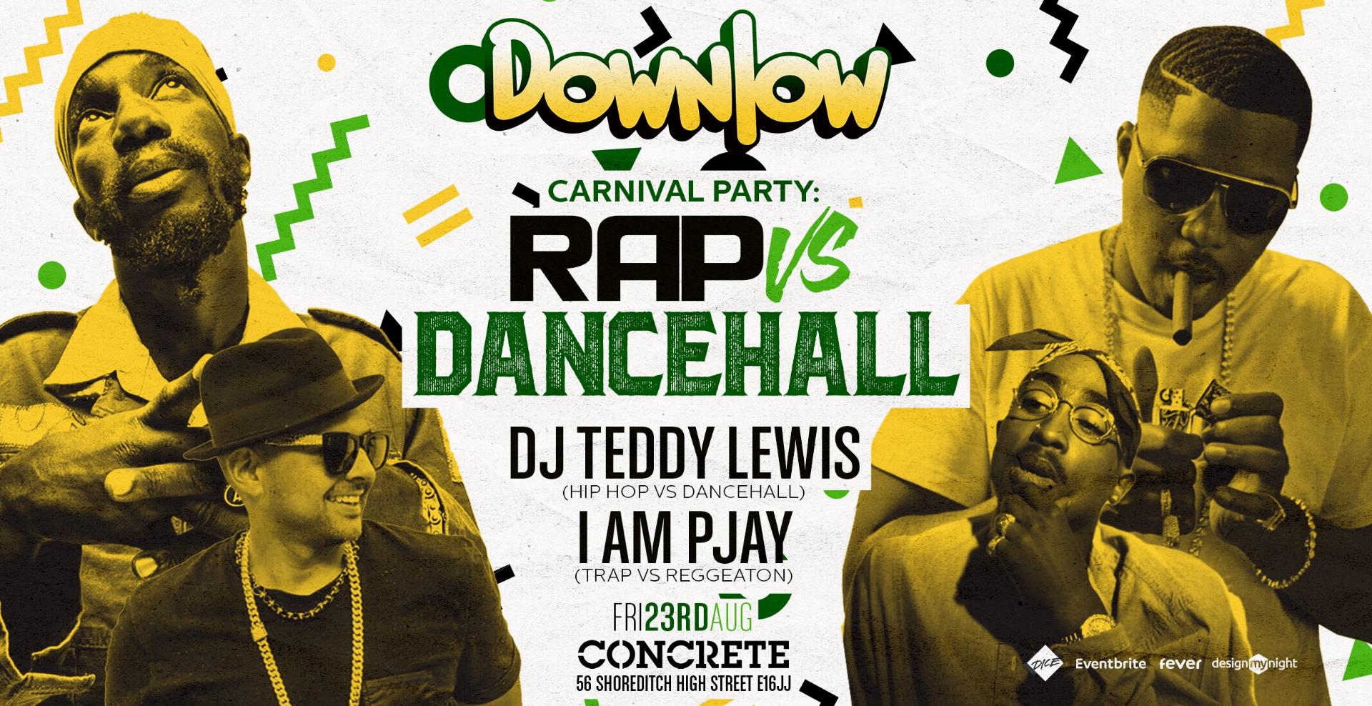 Hip Hop, Trap, & Rap party: The Shoreditch Downlow