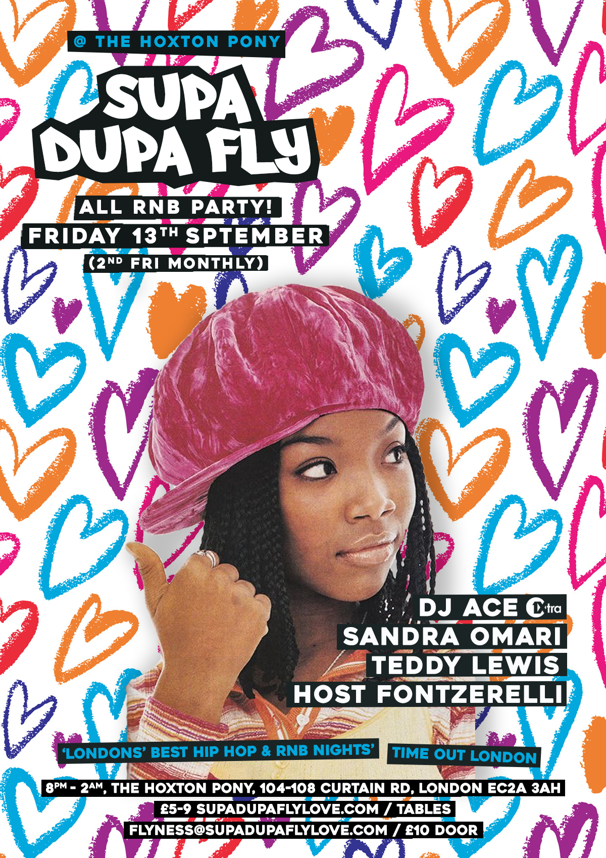 Supa Dupa Fly x All RnB x 2nd Fri's