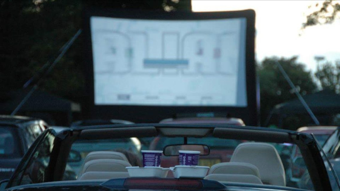 TOP GUN (INDOOR DRIVE-IN MOVIE NIGHT)