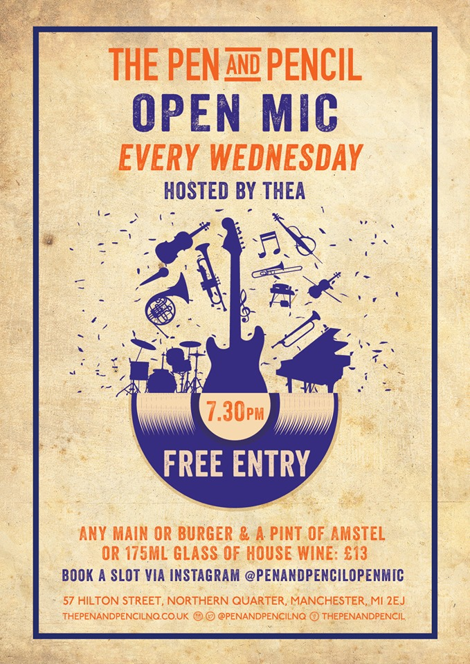 Open Mic every Wednesday