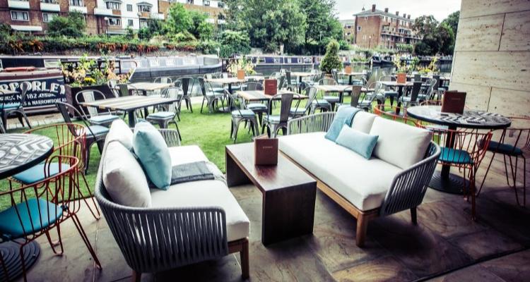 Rotunda Terrace | London Restaurant Reviews | DesignMyNight