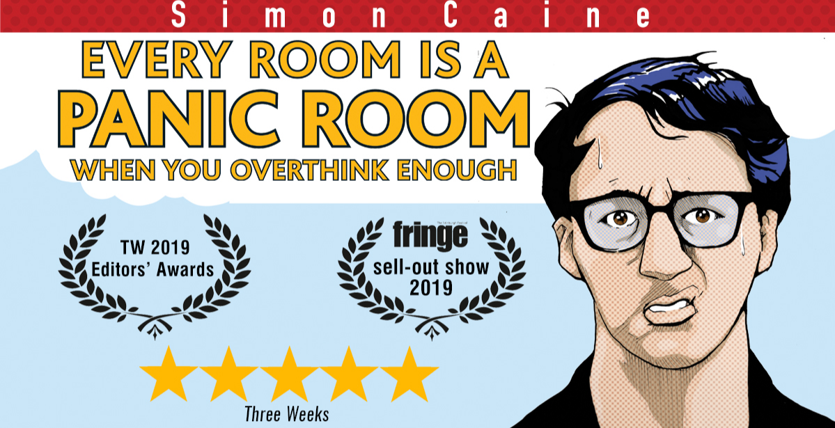 Simon Caine: Every Room Becomes a Panic Room When You Overthink Enough - Nottingham Comedy Festival