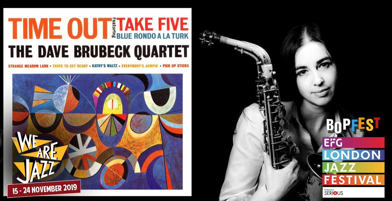 EFG LONDON JAZZ FEST & BOPFEST: Nick Tomalin & Allison Neale play Dave Brubeck's 'Time Out'