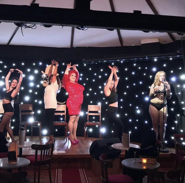 CAN-CAN CABARET CHRISTMAS SPECIAL