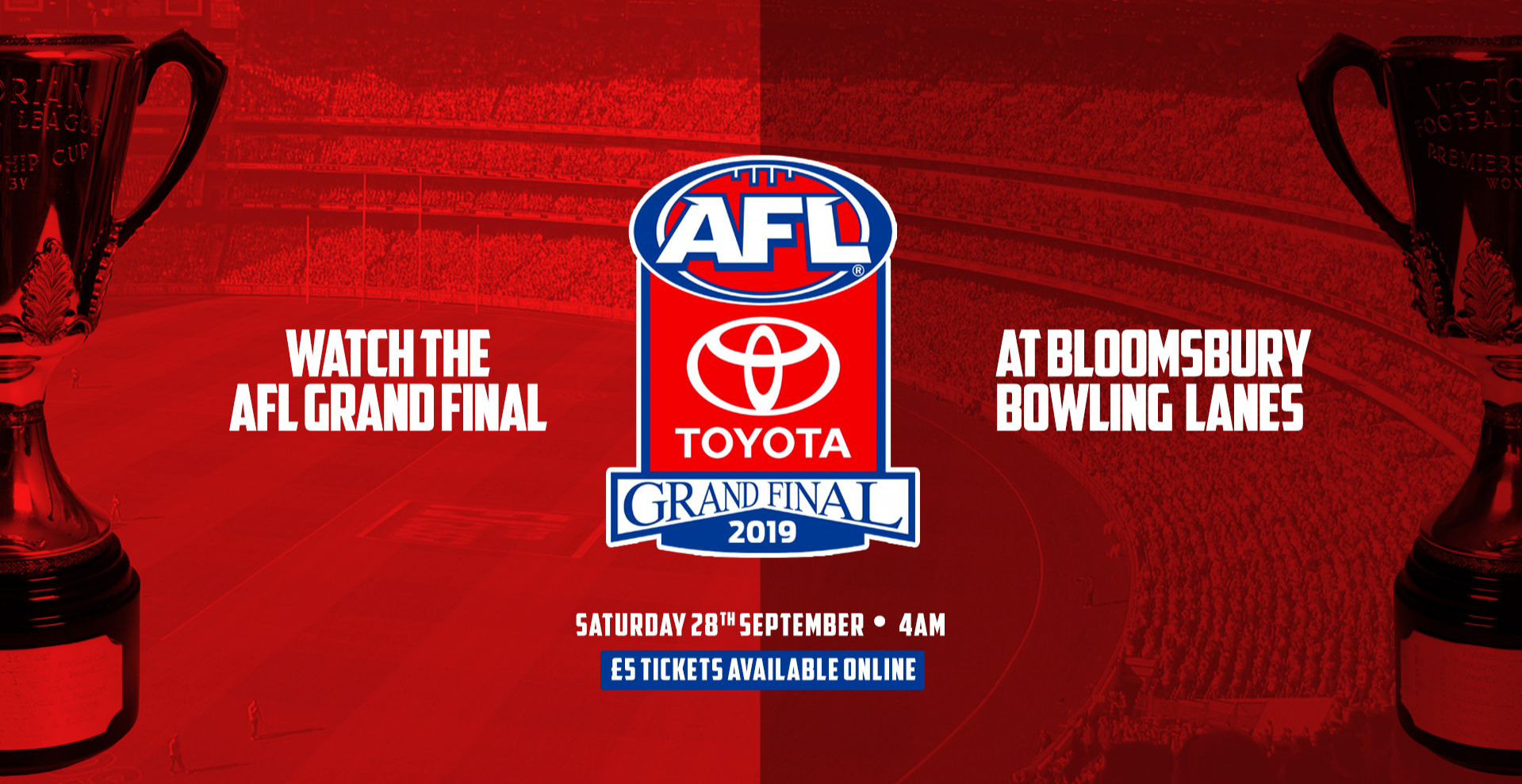 AFL 2019 Grand Final - London Live Screening