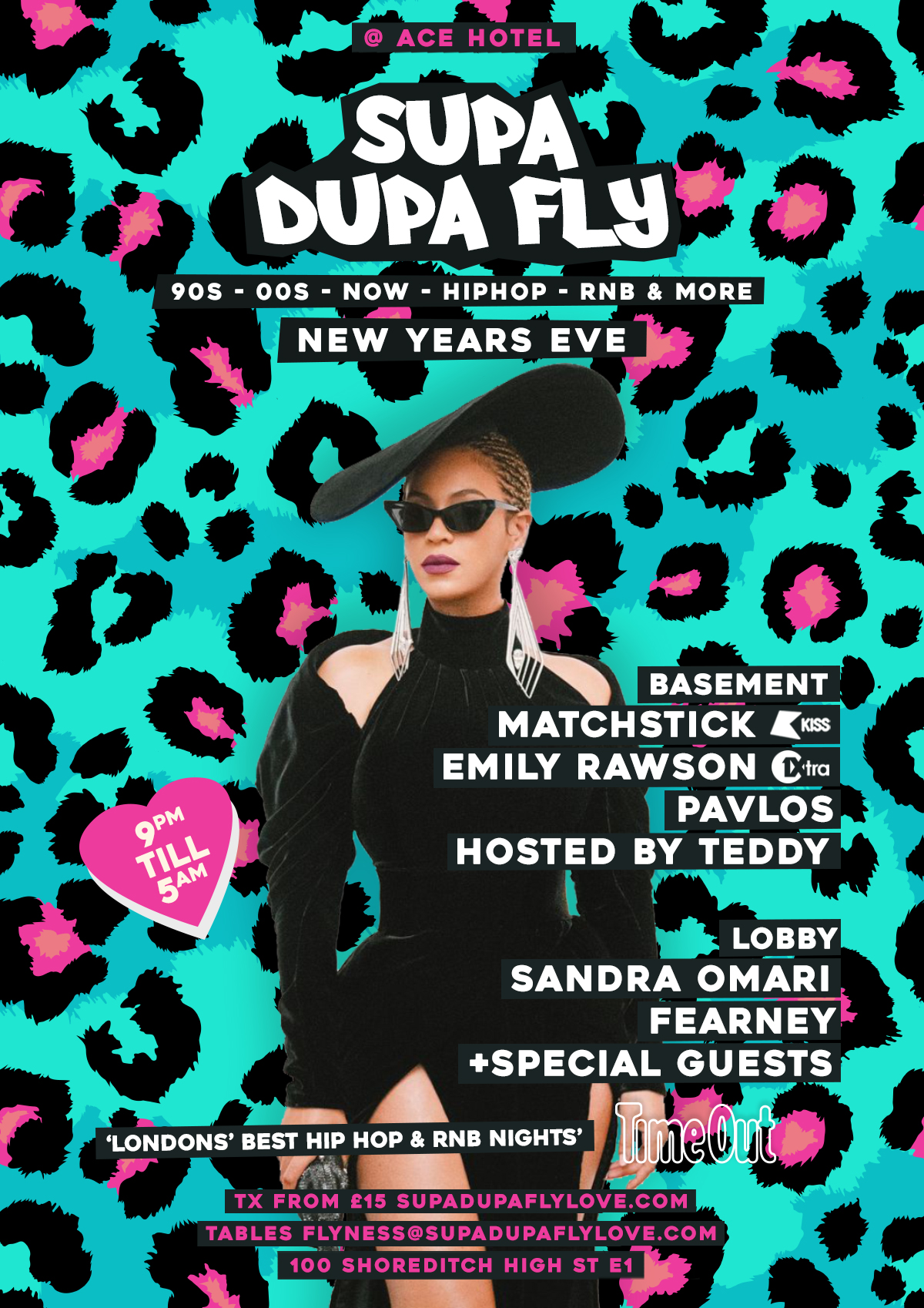 Supa Dupa Fly x New Year's Eve - SOLD OUT
