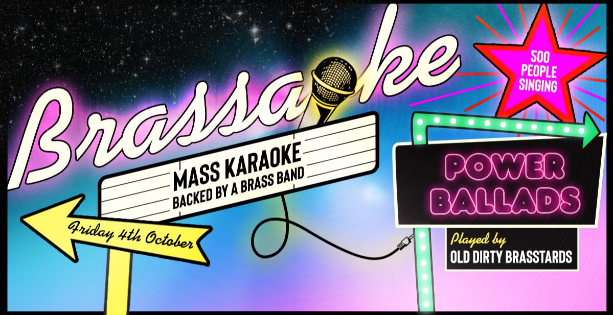 Brassaoke: POWER BALLADS!