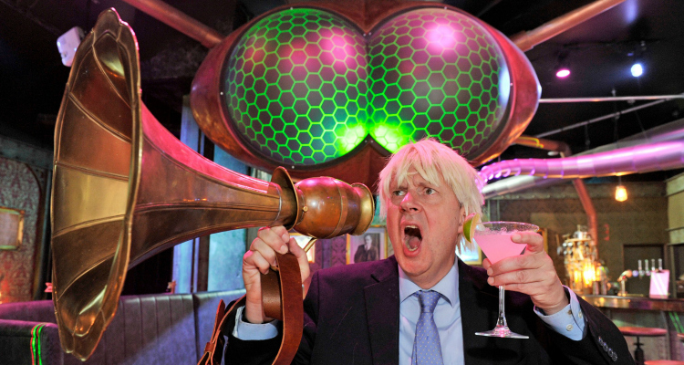 Brexit Halloween Party Boris War Of The Worlds