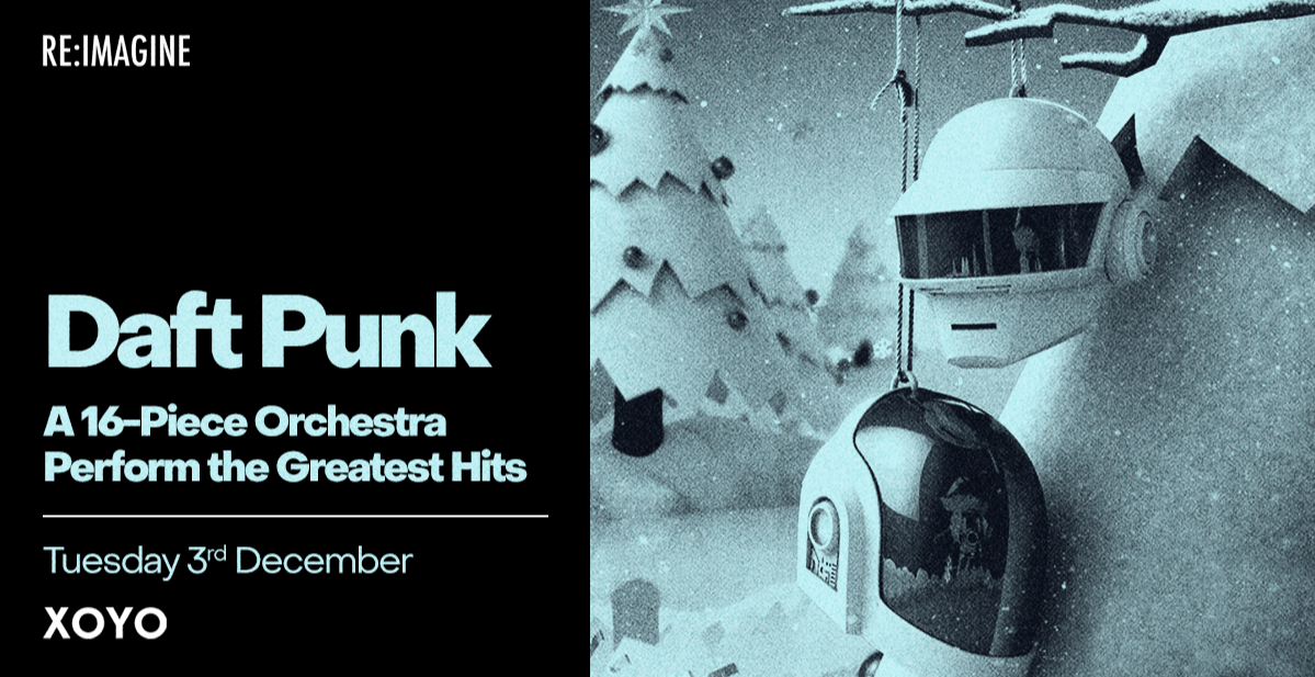 A Live Orchestral Rendition Of Daft Punk's Greatest Hits
