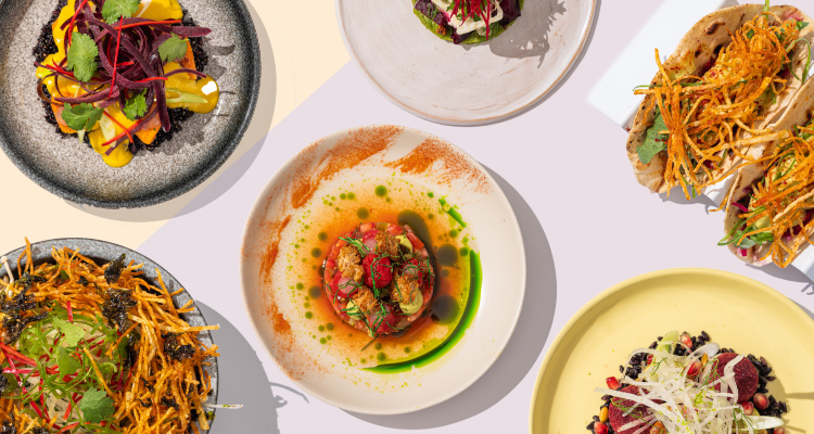 Scarlett Green x Plates | London Restaurant Reviews | DesignMyNight