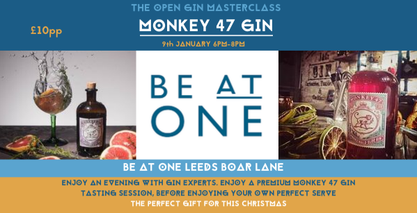 The Open Gin Masterclass with Monkey 47 Gin