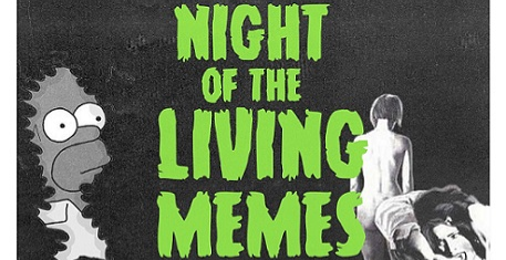 The Curtain / Night Of The Living Memes Halloween Party