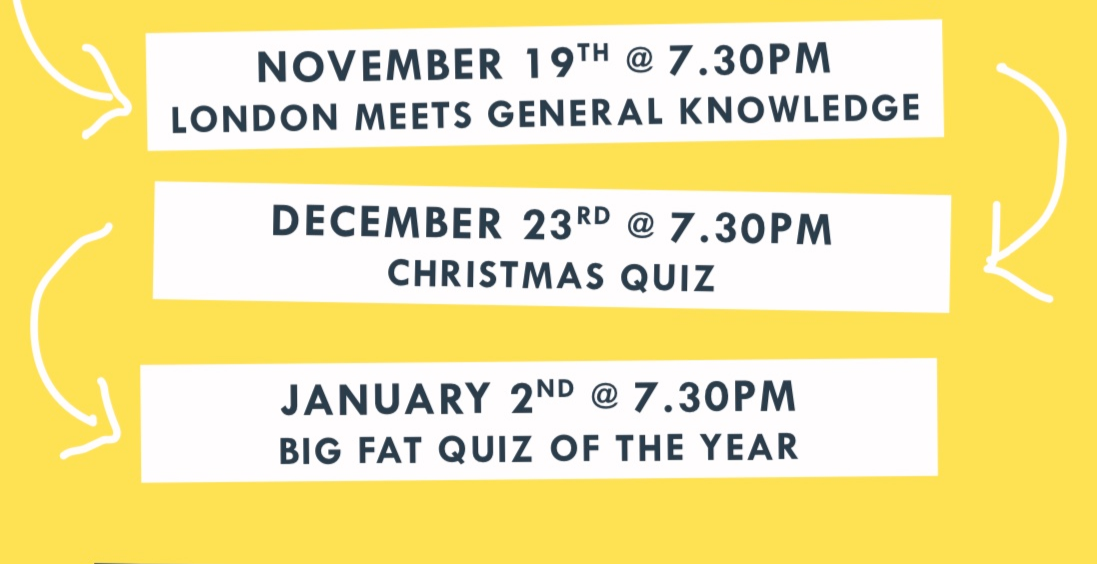 Quiz Night's at The Alma