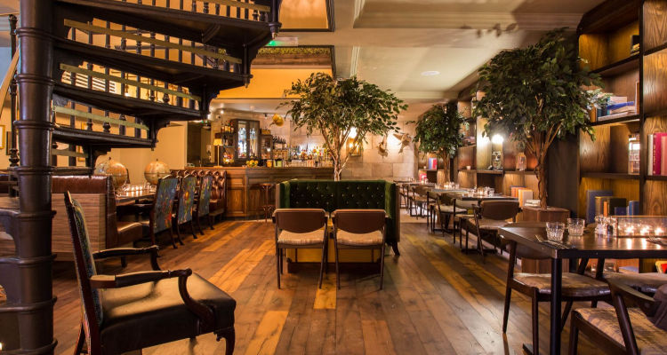 Lost & Found Interior | Leeds Restaurant Reviews | DesignMyNight