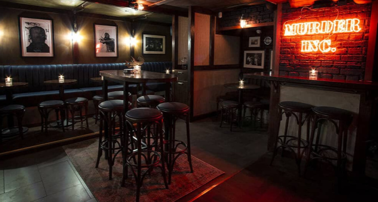 Murder Inc Interior | London Bar Reviews | DesignMyNight
