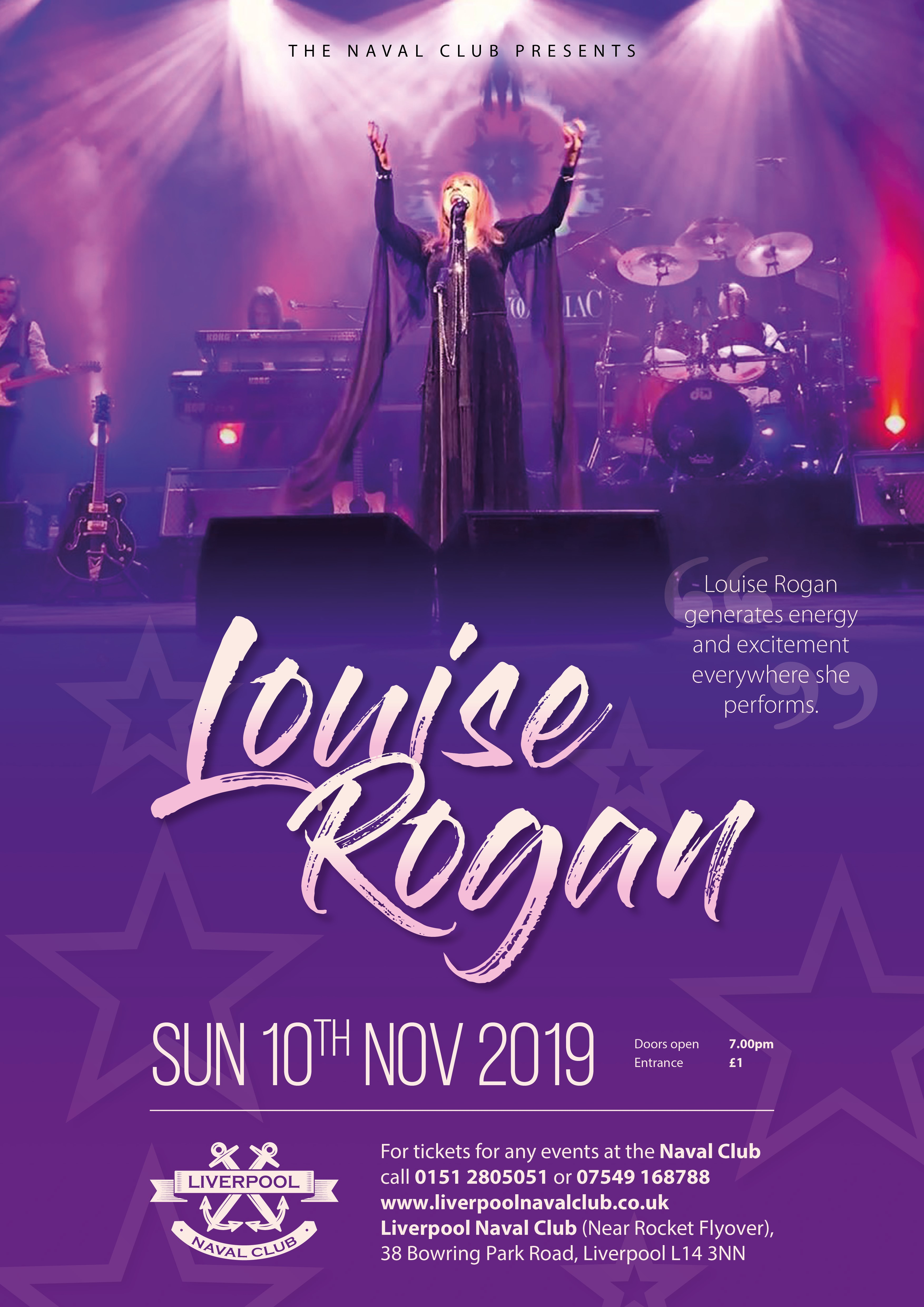 Louise Rogan - Award Winning Female Vocal Act