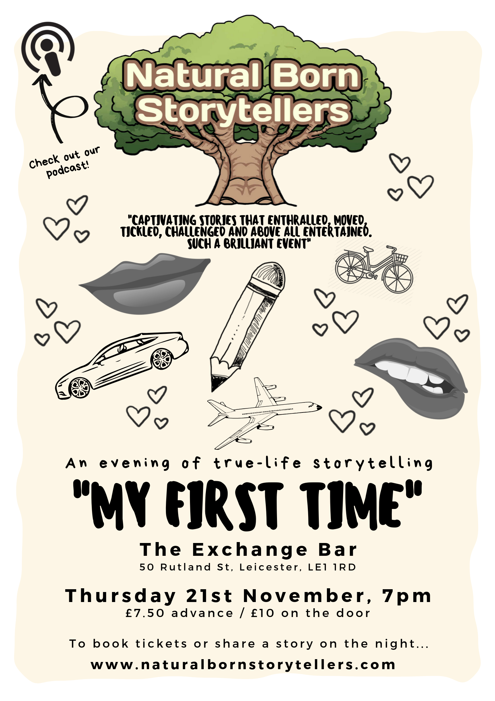 Natural Born Storytellers 'My First Time'
