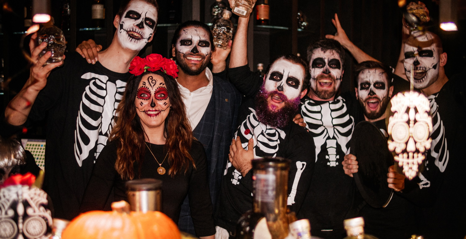Casamigos day of the dead party at The Shard (Oblix)