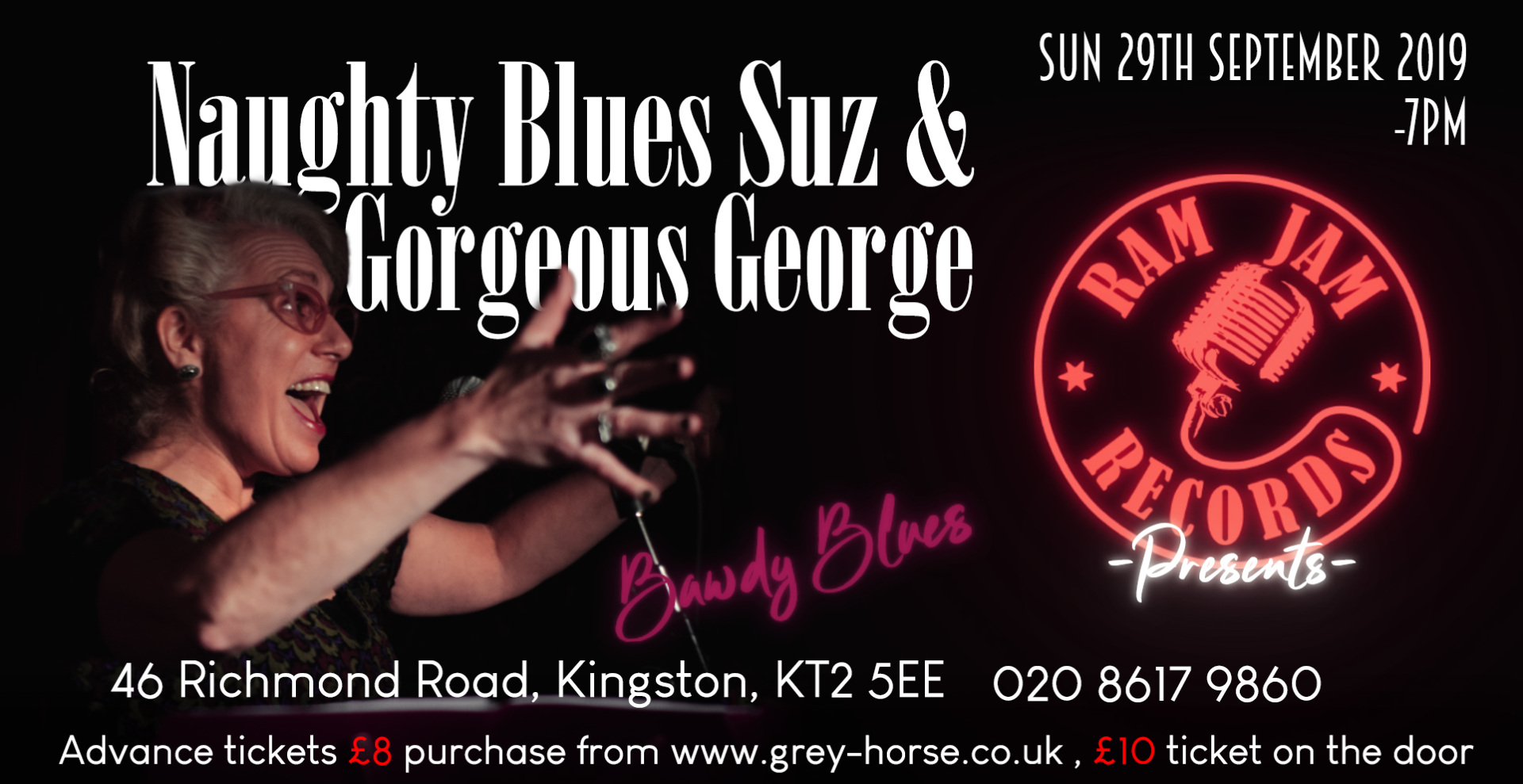 Naughty Blues Suz and Gorgeous George - Bawdy Blues