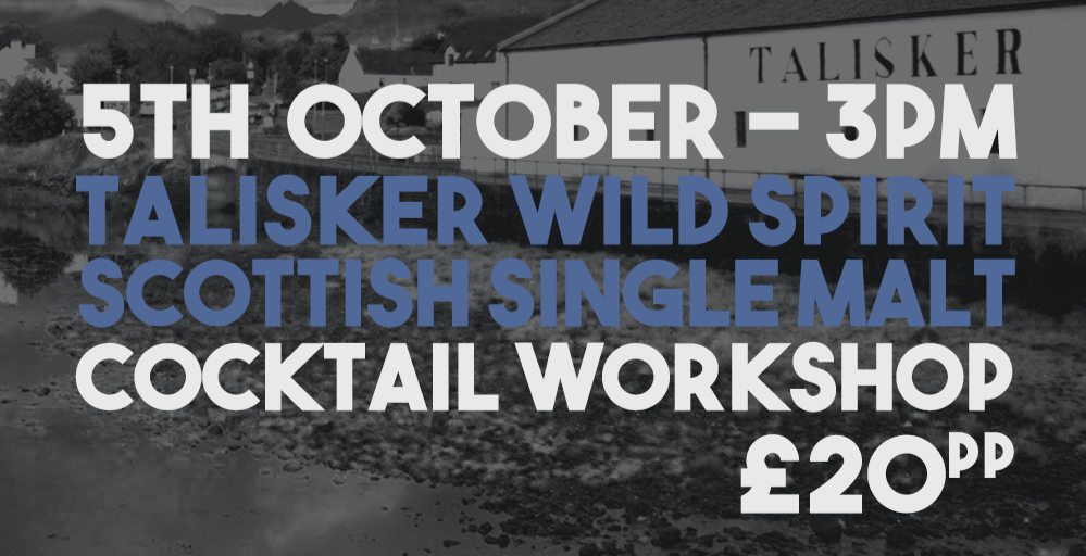 Talisker Wild Spirits Workshop