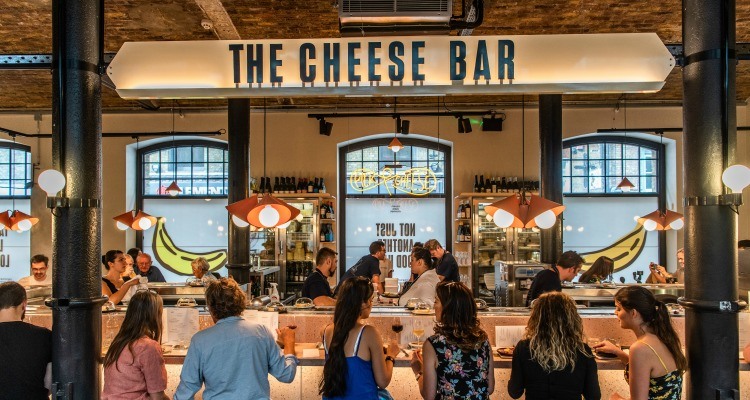 The Cheese Bar Pick & Cheese Seven Dials DesignMyNight Review