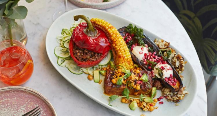 Scarlett Green Vegan Board | London Restaurant | DesignMyNight