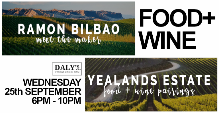 WINE + FOOD - Ramon Bilbao VS Yealands Estate