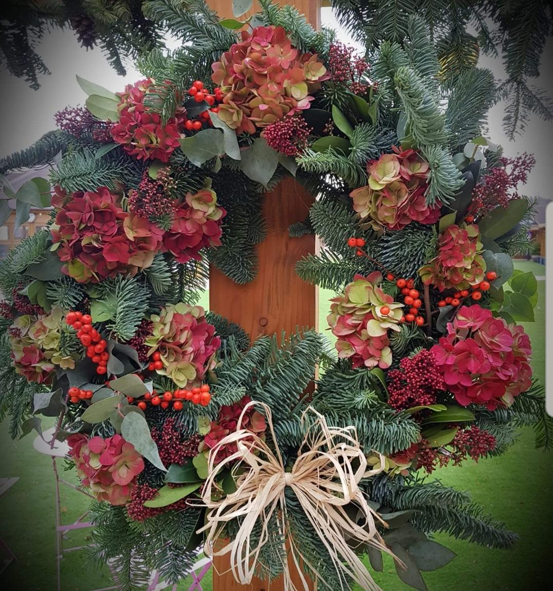 Wreath Making Workshop with Cottage Garden Florist- 1st December 2019