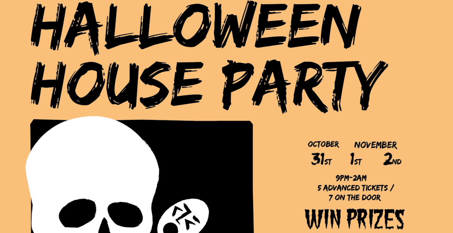 Halloween House Party @ Lost Boys Pizza