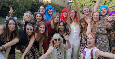 West End Walking Silent Disco Hen Party