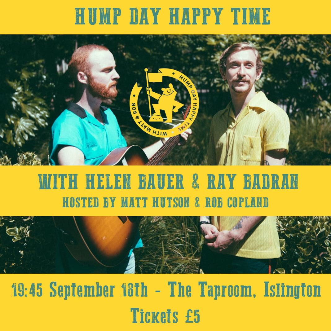 Hump Day Happy Time: Stand up comedy WITH JORDAN BROOKES, HELEN BAUER AND RAY BADRAN