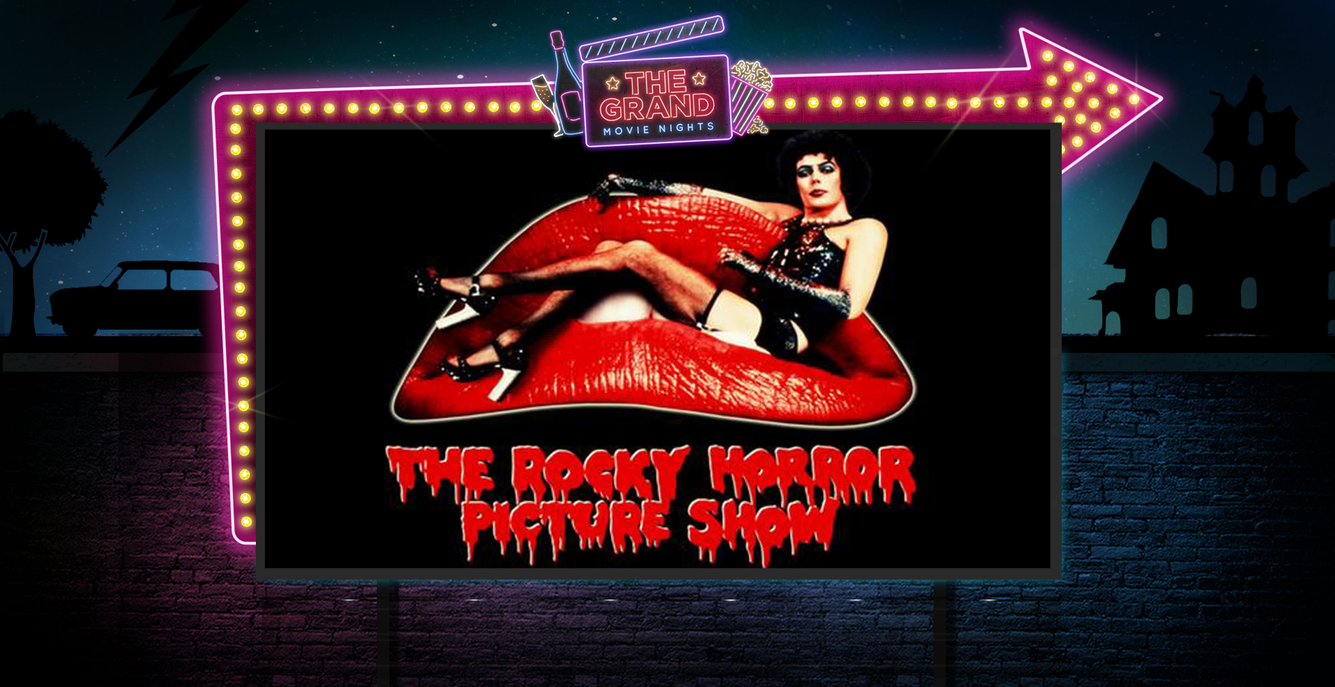 The Rocky Horror Picture Show Sing-Along Movie Night