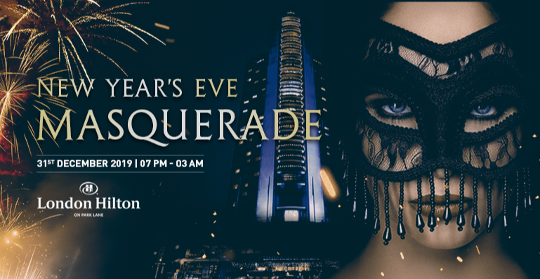 NYE MAYFAIR MASQUERADE GALA DINNER PARTY