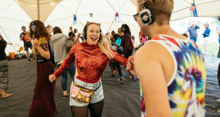 The Ultimate Silent Disco Sober October