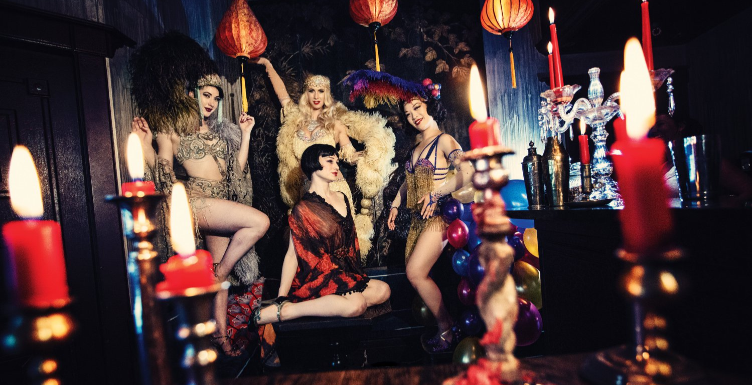 Burlesque at The Courtesan - The Thursday Tease
