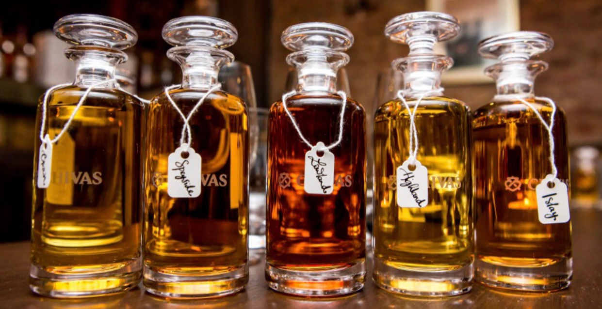 Christmas Whisky Blending with Chivas